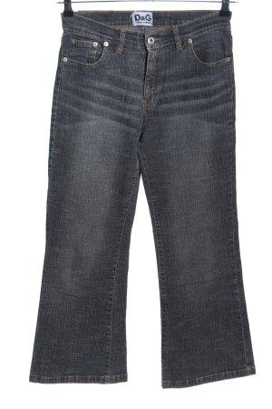 Dolce & Gabbana Jeans a 7/8 grigio chiaro stile casual