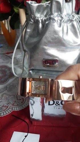 Dolce & Gabbana Stojak na zegarek brąz