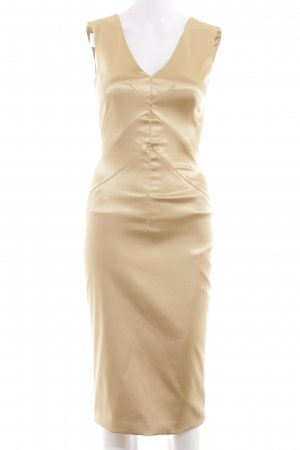 Dolce & Gabbana Abendkleid goldfarben Elegant