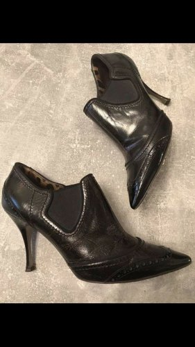 Dolce & Gabbana Slip-on Booties black brown