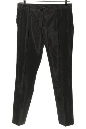 Dolce & Gabbana Anzughose schwarz Casual-Look