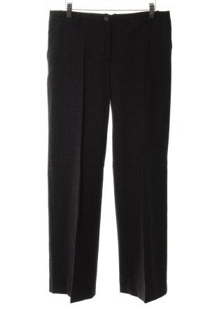 Dolce & Gabbana Anzughose schwarz Allover-Druck klassischer Stil