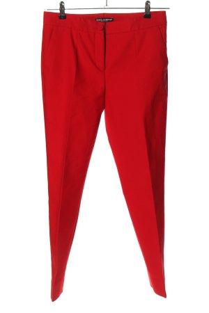 Dolce & Gabbana Anzughose rot Casual-Look