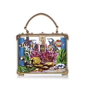 Dolce&Gabbana Aquarium Dolce Box Satchel