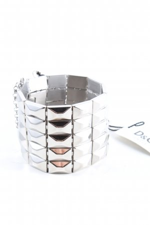 Dolce & Gabbana Armband silberfarben extravaganter Stil