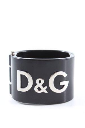 Dolce & Gabbana Mouwband zwart casual uitstraling