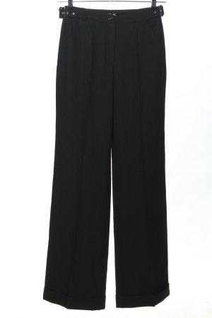 Dolce & Gabbana Baggy Pants schwarz Business-Look