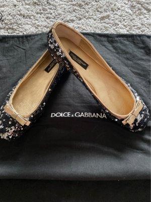 Dolce & Gabanna Ballerinas with Toecap multicolored