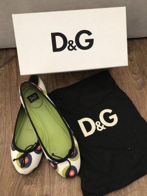 Dolce & Gabbana Slingback Ballerinas multicolored