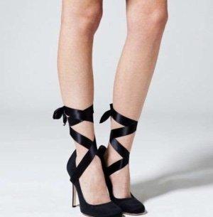 Dolce & Gabbana Ballerina Lace-Up Heels
