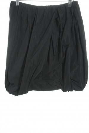 Dolce & Gabbana Ballonrock schwarz Casual-Look