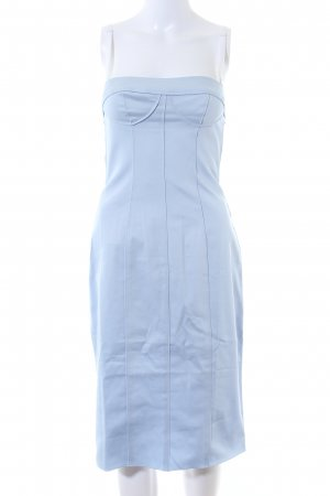 Dolce & Gabbana Bandeaukleid blau Elegant