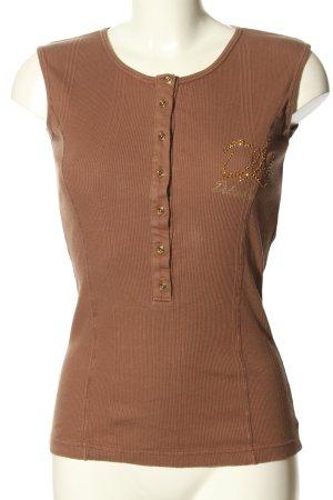 Dolce & Gabbana Basic topje bruin casual uitstraling