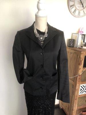 Dolce & Gabbana Blusón negro-gris antracita