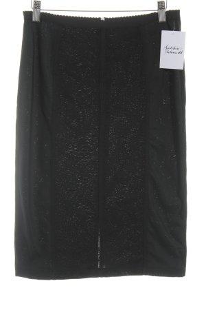 Dolce & Gabbana Bleistiftrock schwarz Business-Look