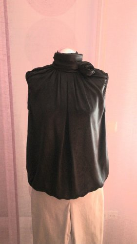 Dolce & Gabbana Blusa de seda negro