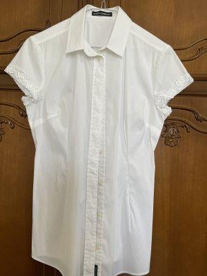 Dolce & Gabbana Bluzka z krótkim rękawem biały