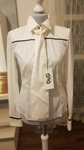 Dolce-Gabbana-Bluse, Hemd, Weiß. Neue+Etikett italienisch gr.44, Eu 38