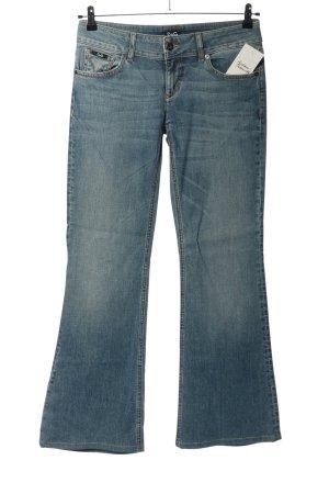 Dolce & Gabbana Jeansy o kroju boot cut niebieski W stylu casual