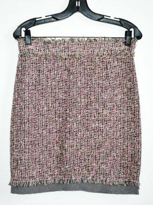 D&G Jupe en tweed multicolore tissu mixte