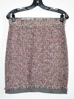 Dolce & Gabbana boucle Tweed Multicolor Seide Rock