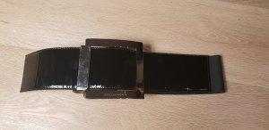 Dolce & Gabbana Boucle de ceinture noir-argenté
