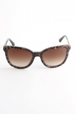 Dolce & Gabbana Glasses bronze-colored-black leopard pattern casual look