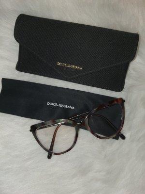 Dolce & Gabbana Gafas marrón claro-gris verdoso