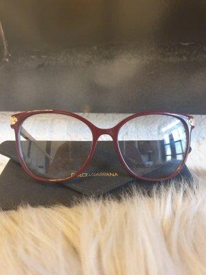 Dolce & Gabbana Bril bordeaux
