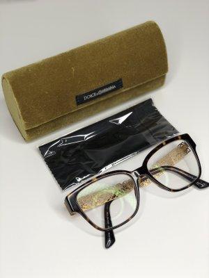 Dolce & Gabbana Glasses gold-colored-dark brown