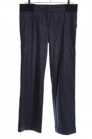 Dolce & Gabbana Bundfaltenhose blau meliert Business-Look