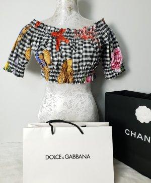 Dolce & Gabbana Bustier Bluse