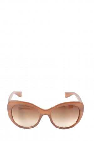 Dolce & Gabbana Butterfly Glasses brown casual look