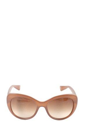 Dolce & Gabbana Okulary motylki brązowy W stylu casual