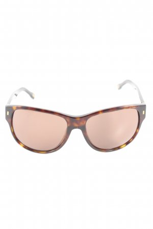 Dolce & Gabbana Butterfly Brille Allover-Druck Casual-Look