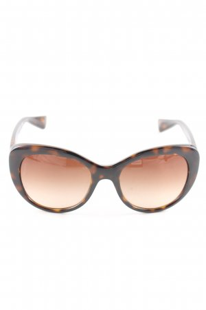 Dolce & Gabbana Butterfly Glasses bronze-colored business style