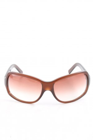 Dolce & Gabbana Butterfly Glasses brown-light orange color gradient