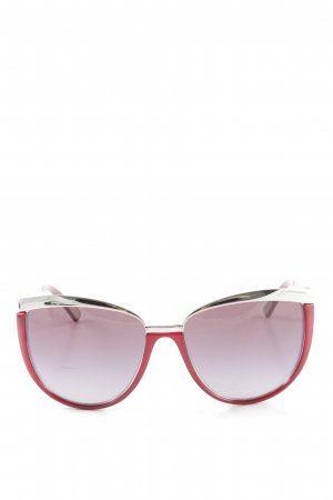 Dolce & Gabbana Butterfly Glasses red-silver-colored elegant