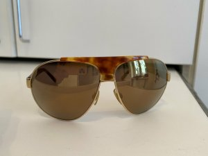 Dolce & Gabbana Oval Sunglasses sand brown-light brown