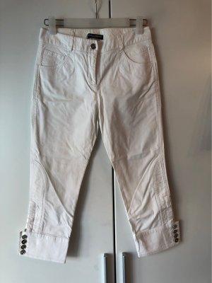 Dolce & Gabbana Pantalon capri blanc-blanc cassé