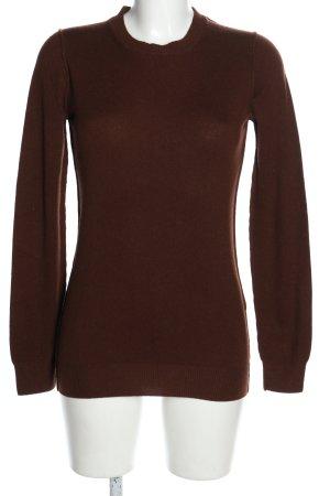Dolce & Gabbana Sudadera de cachemir marrón look casual