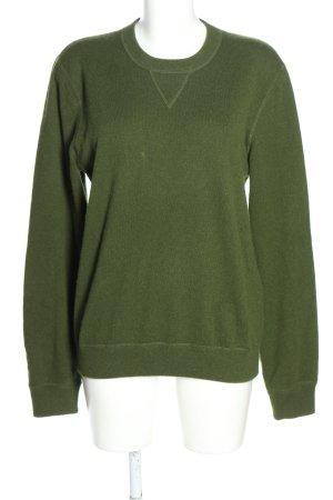 Dolce & Gabbana Cashmerepullover grün Casual-Look