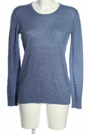 Dolce & Gabbana Cashmerepullover blau meliert Casual-Look