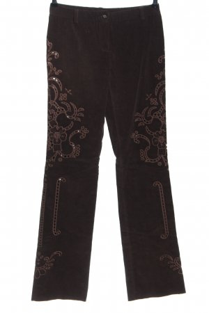 Dolce & Gabbana Cordhose braun Casual-Look