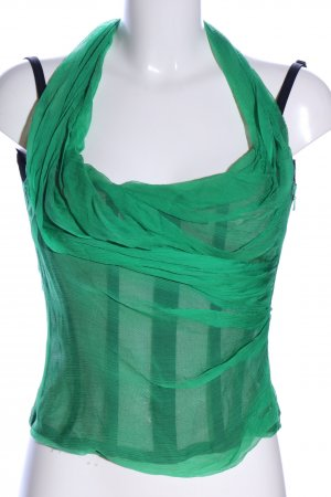 Dolce & Gabbana Corsage Top green elegant
