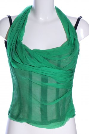 Dolce & Gabbana Corpiño verde elegante