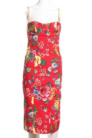 Dolce & Gabbana Corsagenkleid Allover-Druck Elegant