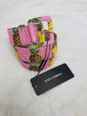 Dolce & Gabbana Hebilla del cinturón multicolor