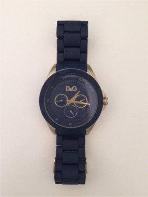 Dolce & Gabbana Orologio blu scuro-oro