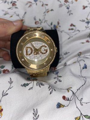 Dolce & Gabbana Montre avec bracelet métallique doré